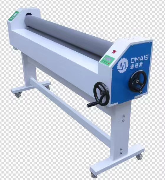 1600 Manual Cold Laminator Low Temperature For Outdoor / Indoor Advertisement