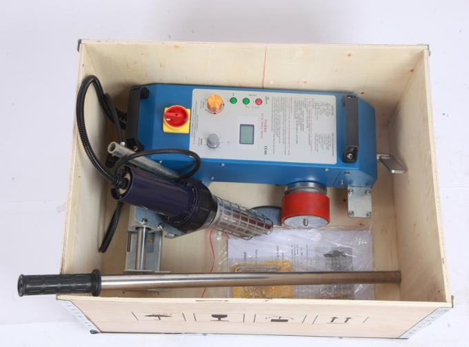 Portable Flex PVC Banner Welding Machines With LST 3400W Hot Air Gun / 20 - 600 Degree