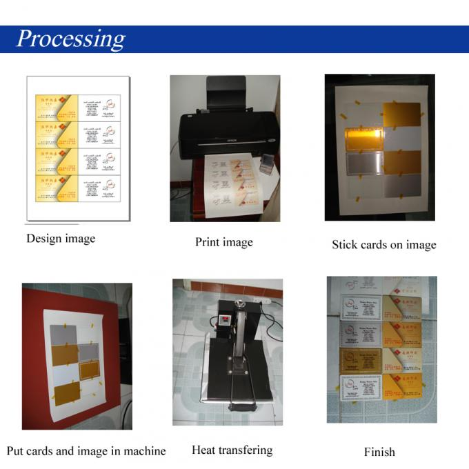 100 Sheet DIY Logo Heat Transfer Paper T Shirt Sublimation Transfer Paper