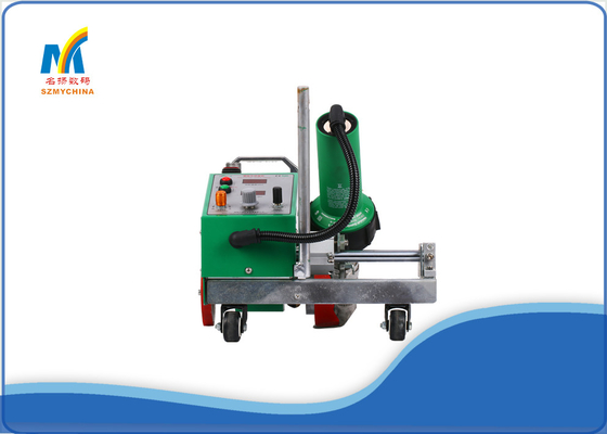 China PVC Fabric Hot Air Plastic Welding Machine 400 Degree Leister Automatic Welder supplier