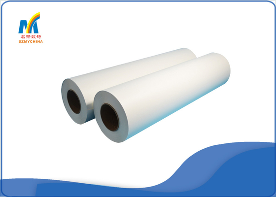 China White 1.30 * 100 M Inkjet Heat Transfer Paper For Mug / T Shirt Sublimation supplier