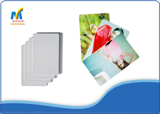 China CE Plastic White Inkjet Printable PVC Cards for Membership / Educational ID supplier