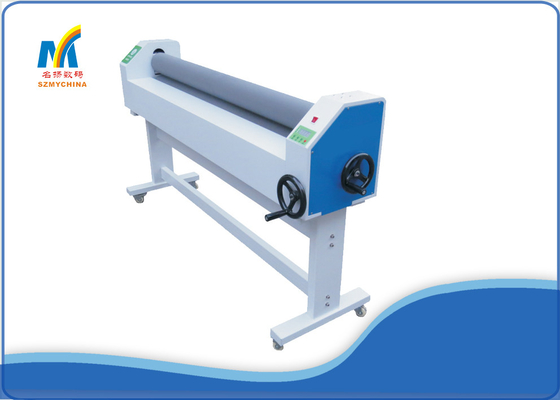 China 1600 Manual Cold Laminator Low Temperature For Outdoor / Indoor Advertisement supplier
