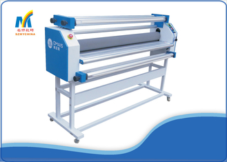 China Automatic Electric Cold Laminator 10M / Min With Silicone Anti Adhesive Roller supplier