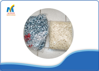 China Part Metal Plastic Grommets For Banner Eyelet Machine , Fabric Eyelet Grommets supplier
