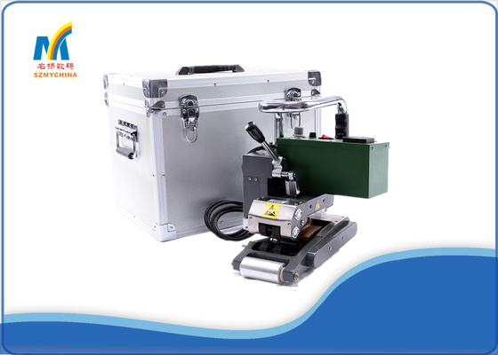 China 1800W Hot Air Vinyl Banner Welding Machine Automatic Industrial Geomembrane Splicing Machine supplier