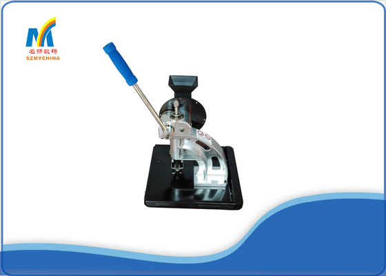 10 MM Size Eyelet Punching Machine Semi Automatic Energy Saving / Environment Friendly
