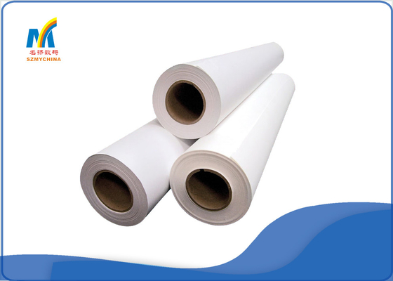 CE Solvent Printer Inkjet Heat Transfer Paper 100 Meters White For Mug Sublimation