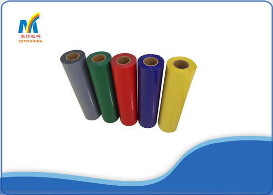 0.6*50 M PVC Heat Transfer Vinyl Rolls For Custom Garment Printing 0.19mm