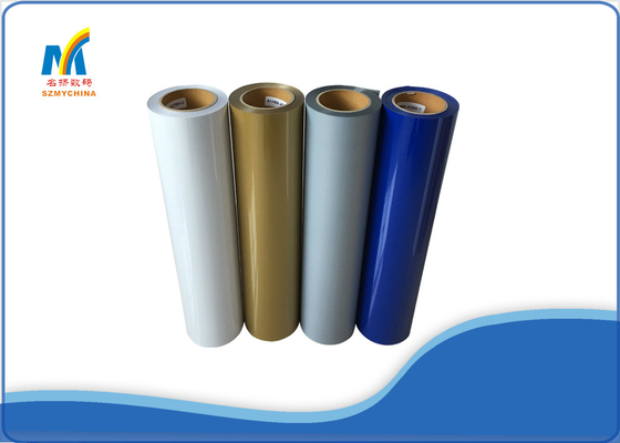 20 - 30 Pounds Colorful Heat Transfer Vinyl Rolls With Cold Peeling CE
