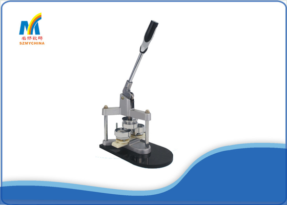 CE Solid Steel Manual Badge Making Machine With 58MM / 44MM Size Mould