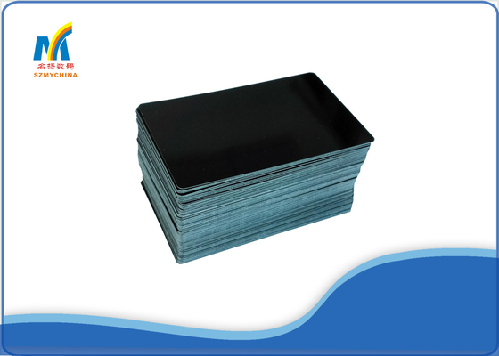 Durable Black Sublimation Business Card Blanks , Modern Unique Business Cards